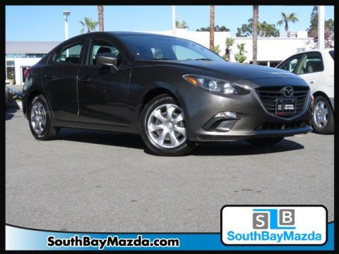 Certified Pre-Owned 2015 Mazda3 4dr Sdn Auto i Sport