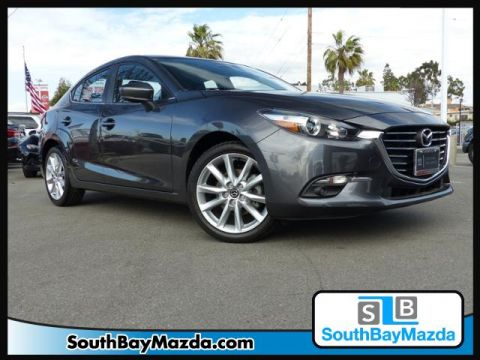 Certified Pre-Owned 2017 Mazda3 4-Door Grand Touring Auto FWD 4dr Car