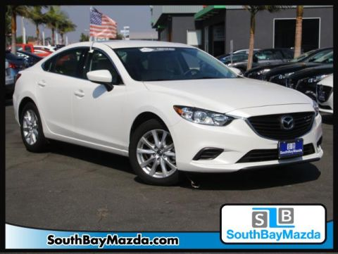Certified Pre-Owned 2016 Mazda6 4dr Sdn Auto i Sport FWD 4dr Car