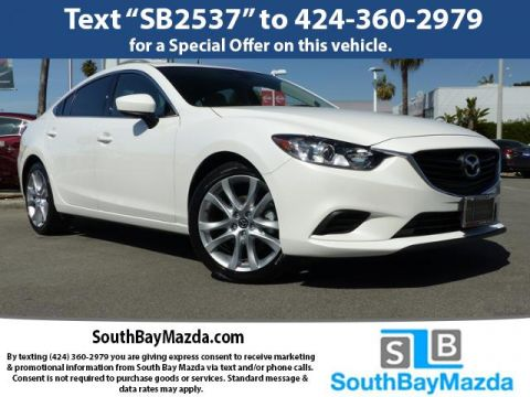 New 2017 Mazda6 Touring Auto FWD 4dr Car