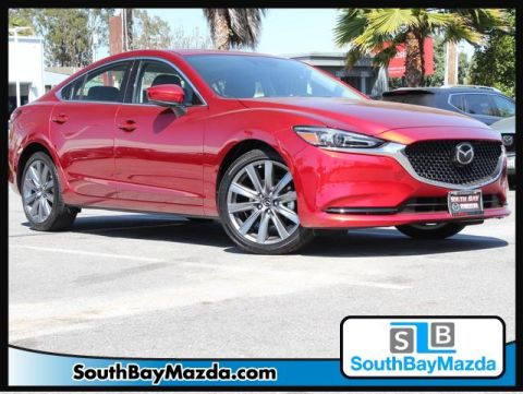 Certified Pre-Owned 2018 Mazda6 Touring Auto