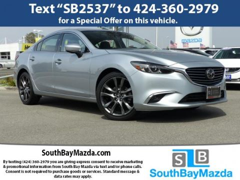 New 2017 Mazda6 Grand Touring Auto With Navigation