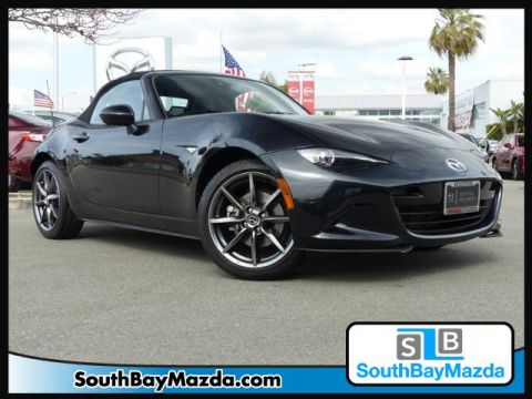 Certified Pre-Owned 2017 Mazda MX-5 Miata Grand Touring Auto RWD 2dr Car
